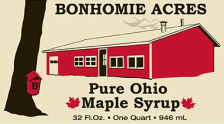 Bonhomie Acres Maple Syrup